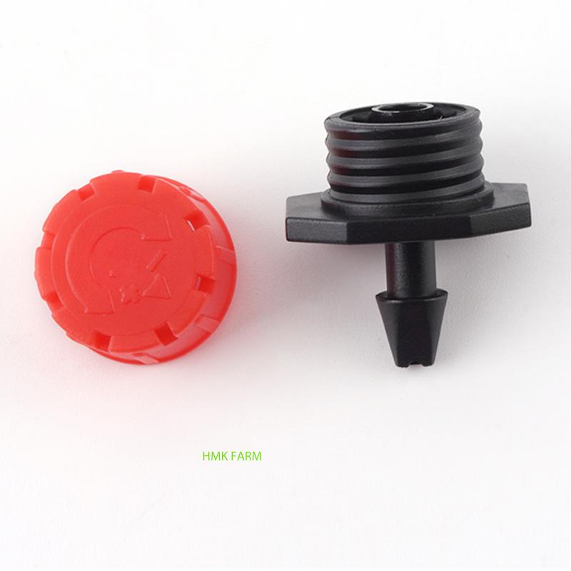 Đầu tưới nhỏ giọt 8 tia có thể tháo lắp dễ dàng
