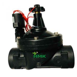 Van điện từ ngoài trời với 2 cơ chế điều khiển tự động và điều khiển tay